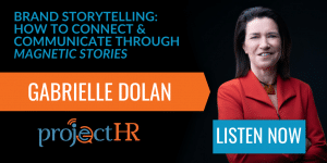 Podcast episode on brand storytelling with gabrielle dolan