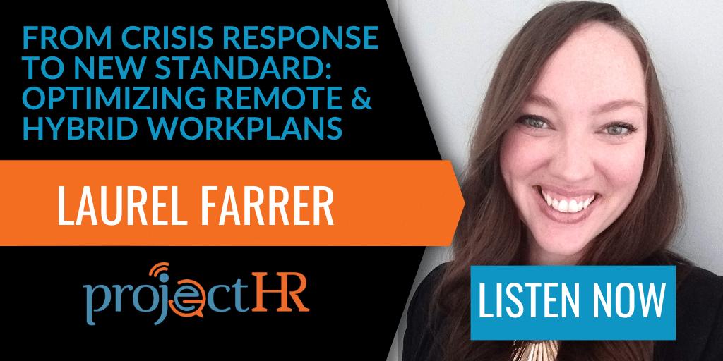 podcast episode on remote work with Laurel Farrer