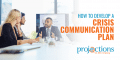 how to develop a crisis communication plan