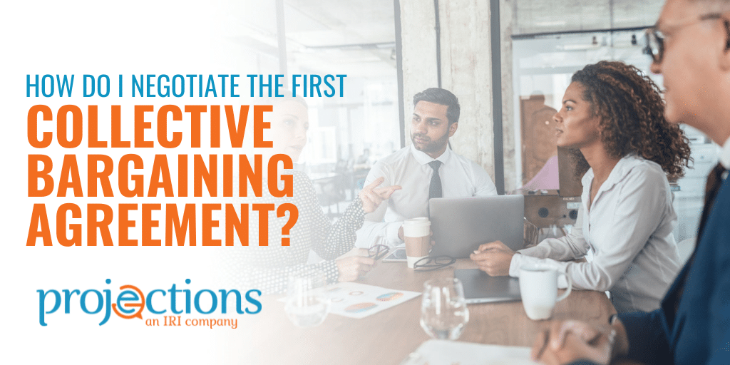 negotiate the first collective bargaining agreement