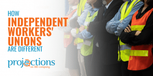 how independent workers unions are different